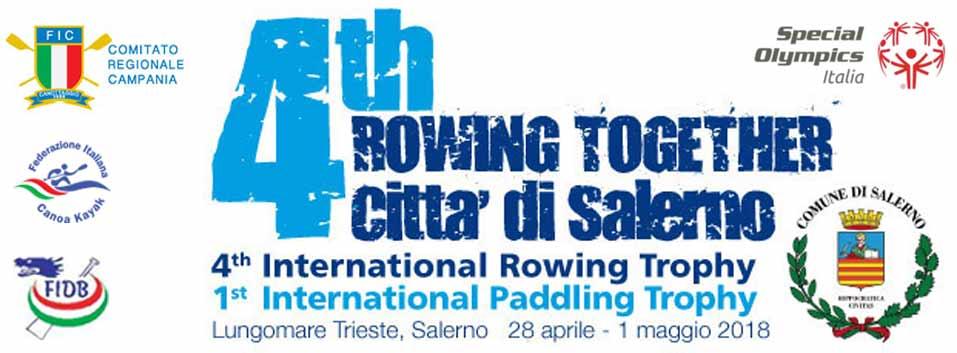 la festa dello sport del remo e della pagaia nel cuore di Salerno